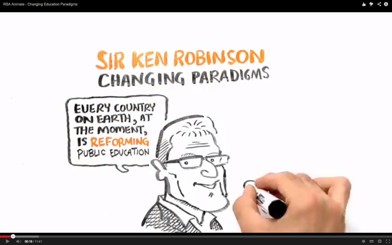 Changing Education Paradigms Sir Ken Robinson Kccs